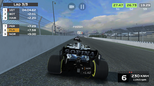 F1 Mobile Racing screenshots 8