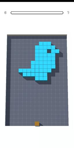Cube Fill 3D Apkfinish screenshots 2