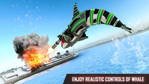Mega Robot Games: Flying Car Robot Transform Games modavailable screenshots 23