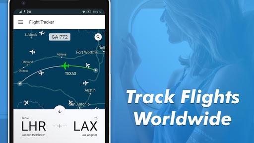 Flight Tracker-Plane Finder, Flight status & Radar 1.15 Screenshots 1