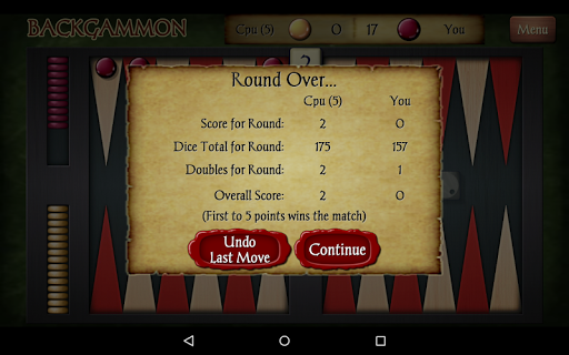 Backgammon Free 2.343 Screenshots 23