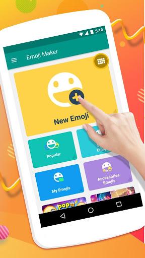Emoji Maker- Free Personal Animated Phone Emojis apktram screenshots 3
