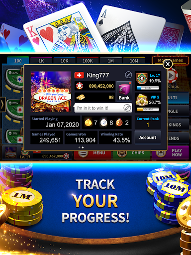 Dragon Ace Casino - Blackjack screenshots 12