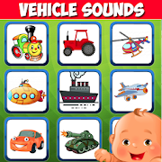 Vehicle sounds. Car for kids