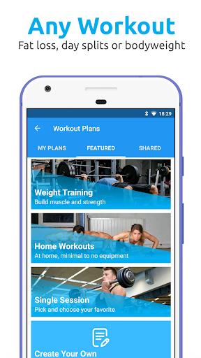 JEFIT Workout Tracker, Weight Lifting, Gym Log App screenshots 2