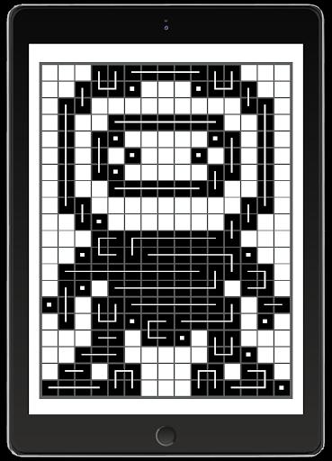 FCross Link-A-Pix puzzles 257 screenshots 9