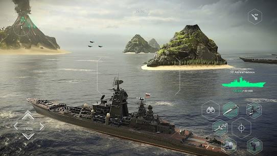 MODERN WARSHIPS MOD Apk: Sea Battle (Unlimited Ammo) 8