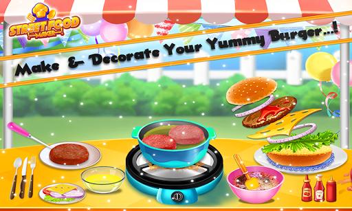 Street Food Pizza Maker - Burger Shop Cooking Game screenshots 5