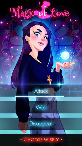witch love story games: magic of love screenshot 3
