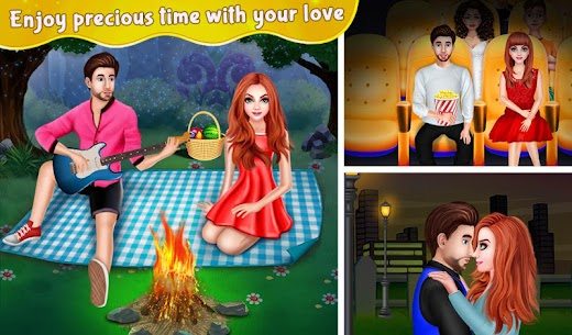 Nerdy Boy's First Love Crush game story 1.0.7 MOD Apk Download 3