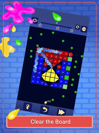 Brick Breaker - Bricks Ballz Shooter apkpoly screenshots 10