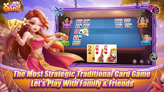 Happy Dummy - with dummy, khaeng card, Poker 1.2.8 Screenshots 4