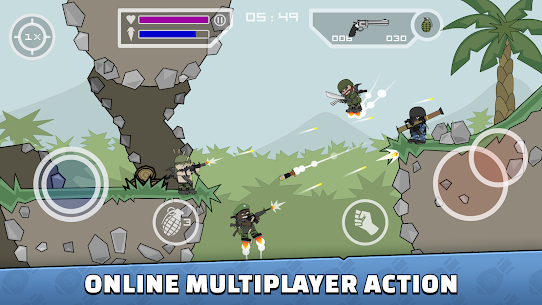Mini Militia – Doodle Army 2 APK 1