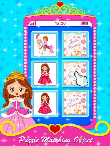 Baby Princess Phone - Princess Baby Phone Games 1.0.3 Screenshots 6