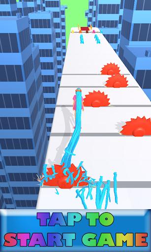 Hair Run 3D apkpoly screenshots 1