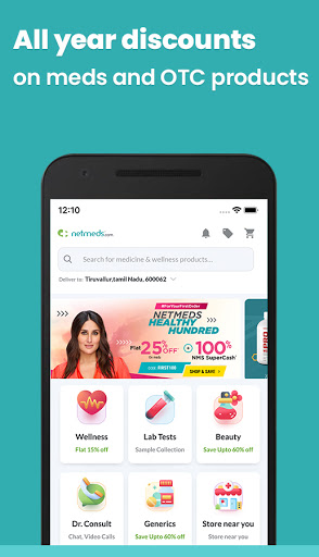 Netmeds - Indiau2019s Trusted Online Pharmacy App android2mod screenshots 1