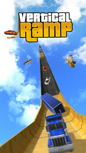 Vertical Mega Ramp Impossible 3D 1.9 screenshots 1