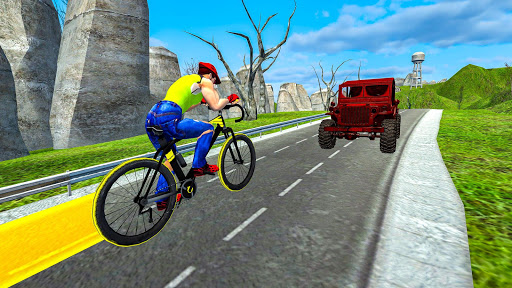 Light Bike Fearless BMX Racing Rider 2.2 screenshots 4