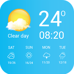 Screenshot 10 de Weather - Weather Real-time Forecast para android