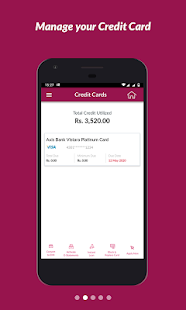 Axis Mobile- Fund Transfer,UPI,Recharge & Payment Screenshot