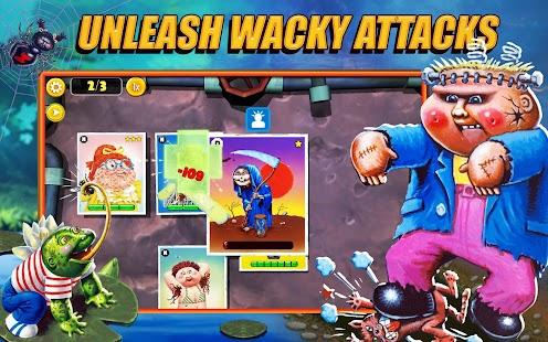 Garbage Pail Kids: Schermata del gioco