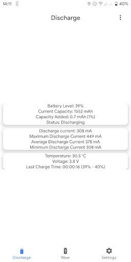 Capacity Info: Find out battery wear apktram screenshots 1