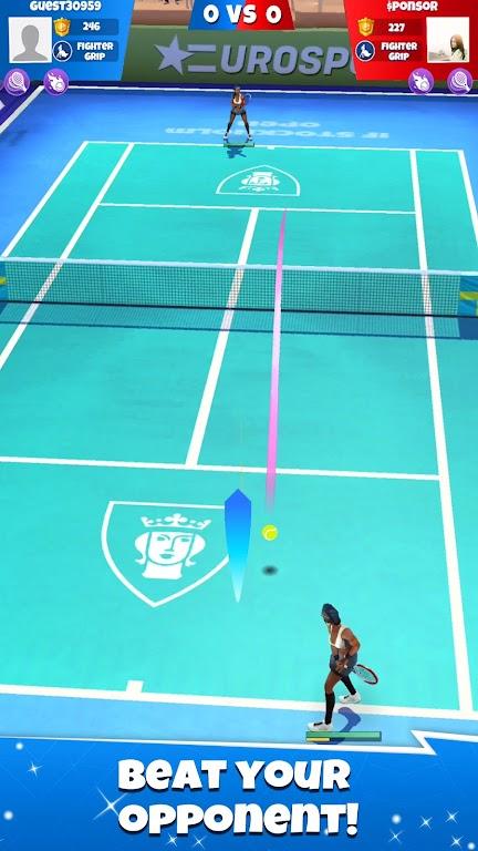Tennis Go: World Tour 3D  poster 23