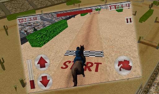 Jumping Horse Racing Simulator 2.4 screenshots 1