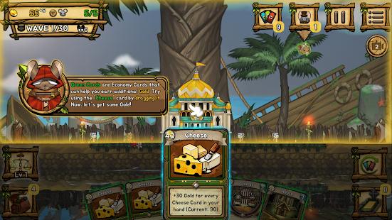 Ratropolis : CARD DEFENSE GAME screenshots 6