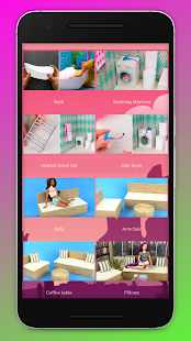 How to make furniture and clothes dolls 2.0 screenshots 1