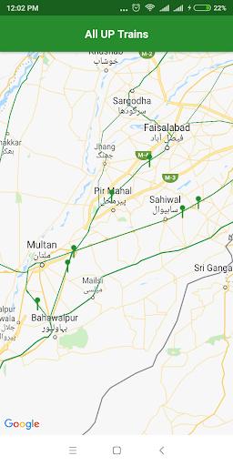 Pak Rail Live - Tracking app of Pakistan Railways  Screenshots 5