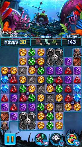 Jewel Kraken: Match 3 Jewel Blast 1.9.1 screenshots 6