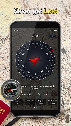 Portable GPS Compass & Bubble Level modavailable screenshots 2