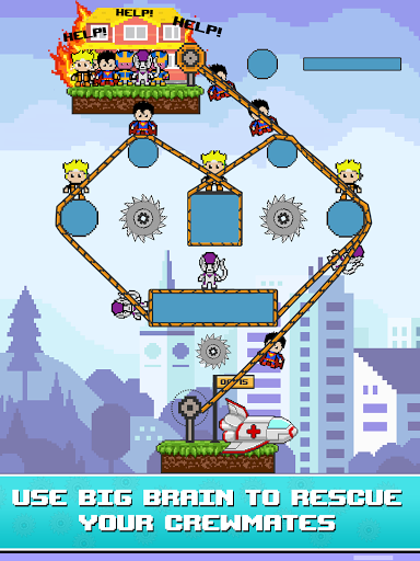 Rope Pixel Master - Rescue Hero Academy 0.14 screenshots 9