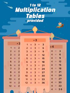Multiplication Flash Cards App