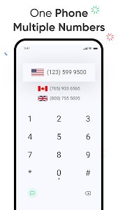 eSim Data + 2nd Phone Number. Virtual SIM Numbers 1.27
