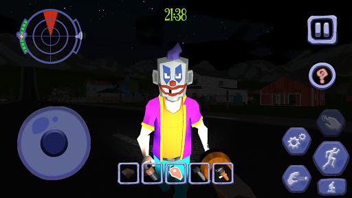 Scary Clown Man Neighbor. Seek & Escape Apkfinish screenshots 13