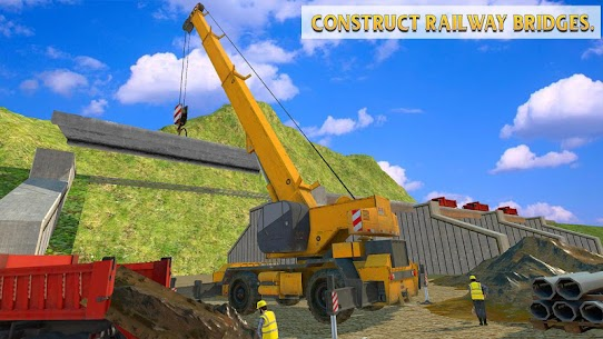 Train Station Construction Railway 3