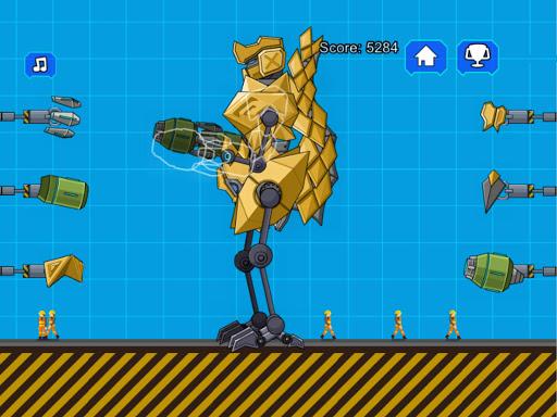Robot Megalosaurus Dino War  screenshots 9