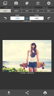 Image Size - Photo Resizer Screenshot