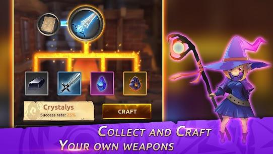 Knight War: Idle Defense MOD APK 1.6.4 (Unlimited money, tickets, max ATK Range) 8