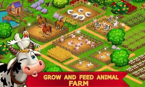 My Farm Town Village Life best Farm Offline Game Apk Download NEW 2021 3