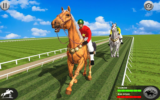 Horse Racing Games 2020: Horse Riding Simulator 3d 4.8 screenshots 1