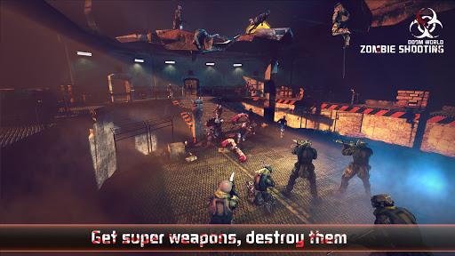 Zombie Defense Shooting: FPS Kill Shot hunting War  screenshots 2