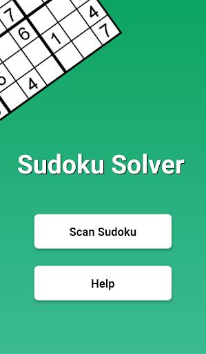 Sudoku Solver - Scanner app using camera goodtube screenshots 1