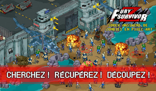 Fury Survivor: Pixel Z APK MOD (Astuce) screenshots 2