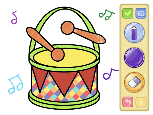 Coloring and drawing for kids  screenshots 14