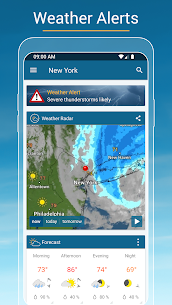 Weather & Radar – Storm alerts 5