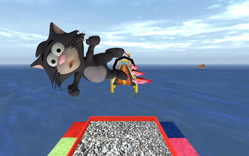 Tiny Cat Run: Running Game Fun apkmr screenshots 2