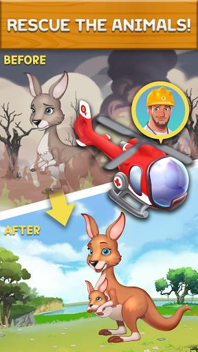 Puzzle Fruits: Rescue Wild  screenshots 3
